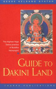 Guide to Dakini Land, Geshe Kelsang Gyatso, BUDDHISM Books, Vedic Books