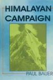 Himalayan Campaign, Paul Bauer, BIOGRAPHY Books, Vedic Books