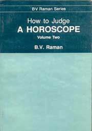 How to Judge a Horoscope (2 Volumes), B.V. Raman, DIVINATION Books, Vedic Books