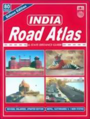 India-Road Distance and State Distance Guide Deluxe, Indian Map Services, TRAVEL Books, Vedic Books