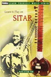 Learn To Play On Sitar, Ram Avtar, MUSIC Books, Vedic Books