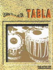 Learn To Play On Tabla, Ram Avtar, MUSIC Books, Vedic Books