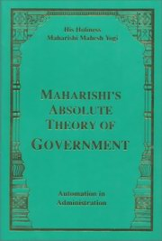 Maharishi's Absolute Theory of Government, Maharishi Mahesh Yogi, MAHARISHI MAHESH YOGI Books, Vedic Books