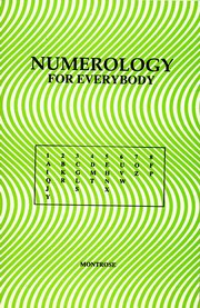 Numerology for Everybody, Montorse, JUST ARRIVED Books, Vedic Books