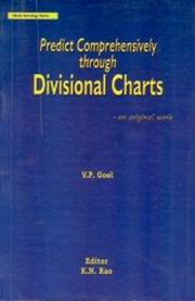 Predict Comprehensively Through Divisional Charts, VP Goel, KN Rao (Ed.), JYOTISH Books, Vedic Books