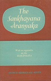 The Samkhyayana Aranyaka, A. Berriedale Keith, JUST ARRIVED Books, Vedic Books