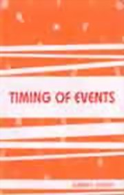 Timing of Events, Sumeet Chugh, JYOTISH Books, Vedic Books , jyotish