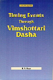 Timing Events Through Vimshottari Dasha, K.N. Rao, JYOTISH Books, Vedic Books , vimshotri dasha