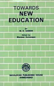 Towards New Education, M.K. Gandhi, MASTERS Books, Vedic Books