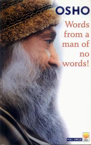 Words from a Man of no Words, Osho, MASTERS Books, Vedic Books