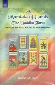 A Mandala of Cards The Buddha Tarot, Robert M. Place, DIVINATION Books, Vedic Books