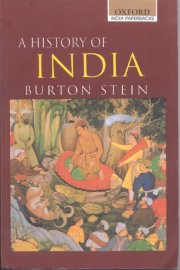 A History of India, Burton Stein, A TO M Books, Vedic Books ,