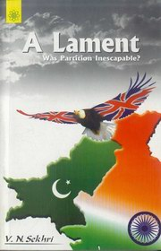 A Lament, V.N. Sekhri, BIOGRAPHY Books, Vedic Books
