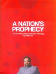 A Nation's Prophecy, Dr. Ravi Rao, ASTROLOGY Books, Vedic Books