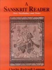 A Sanskrit Reader: Text, Vocabulary and Notes, Charles Rockwell Lanman, SANSKRIT Books, Vedic Books