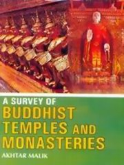 A Survey of Buddhist Temples and Monasteries, Akhtar Malik, ARCHITECTURE Books, Vedic Books
