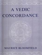 A Vedic Concordance, Maurice Bloomfield, VEDAS Books, Vedic Books