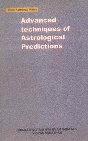 Advanced Techniques of Astrological Predictions, K N Rao, DIVINATION Books, Vedic Books