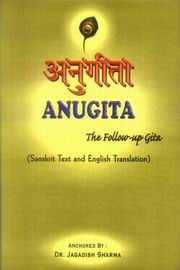 Anugita, Dr. Jagadish  Sharma, JUST ARRIVED Books, Vedic Books