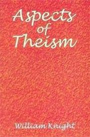 Aspects of Theism, William Knight, SPIRITUALITY Books, Vedic Books