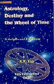 Astrology, Destiny & The Wheel Of Time, K.N. Rao, JYOTISH Books, Vedic Books