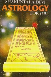 Astrology for You by Shakuntala Devi at Vedic Books