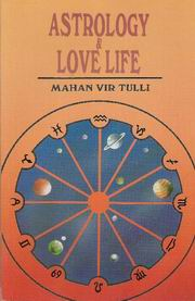 Astrology and Love Life, Mahan Vir Tulli, JUST ARRIVED Books, Vedic Books
