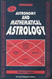 astrology and astronomy books