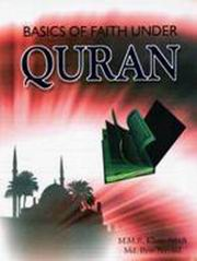 Basics of Faith Hunder Quran, M.M.R. Khan Afridi, Md. Ilyas Navaid, HISTORY Books, Vedic Books