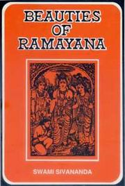 Beauties of Ramayana, Swami Sivananda, MASTERS Books, Vedic Books