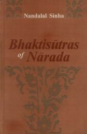 Bhaktisutras of Narada, Nandalal Sinha (Tr.), JUST ARRIVED Books, Vedic Books