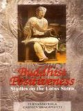 Buddhist Positiveness: Studies on the Lotus Sutra