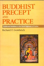 Buddhist Precept and Practice, Richard F. Gombrich, A TO M Books, Vedic Books ,