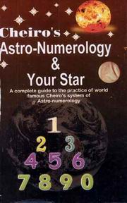 Cheiro's Astro Numerology & Your Star, Cheiro, DIVINATION Books, Vedic Books