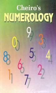 Cheiro's Numerology by Cheiro at Vedic Books