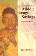 Collection of the Middle Length Sayings (3 vols)