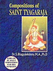 Compositions of Saint Tyagaraja, Dr. S. Bhagyalekshmy, M.A. Ph.D., MUSIC Books, Vedic Books
