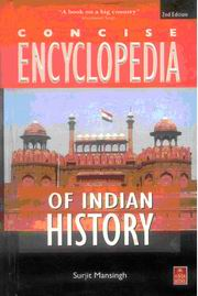 Concise Encyclopedia of Indian History, Surjit Mansingh, HISTORY Books, Vedic Books