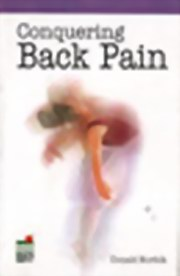 Conquering Back pain, Donald Norfolk, HEALING Books, Vedic Books