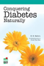 Conquering Diabetes Naturally, h. k. Bakhru, HEALING Books, Vedic Books