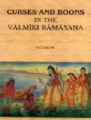 Curses and Boons in the Valmiki Ramayana , P.G. Lalye , LITERATURE Books, Vedic Books