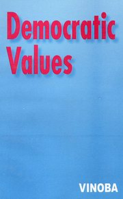 Democratic Values, Acharya Vinoba Bhave, MASTERS Books, Vedic Books