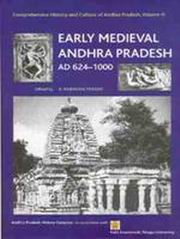 Early Medieval Andhra Pradesh AD 624-1000 (Comprehensive History And Culture Of Andhra Pradesh, Volume III), Prasad, B Rajendra, HISTORY Books, Vedic Books