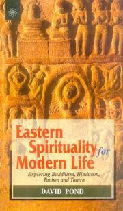 Eastern Spirituality for Modern Life, David Pond, INSPIRATION Books, Vedic Books