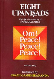 Eight Upanishads (Vol. 2), Sri Shankaracharya, VEDANTA Books, Vedic Books