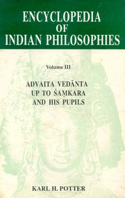 Encyclopaedia of Indian Philosophies Volumes III, H Potter (ed.) Kari, HISTORY Books, Vedic Books