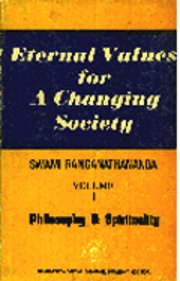 Eternal Values for a Changing Society (Vol 1), Swami Ranganathananda, SPIRITUALITY Books, Vedic Books