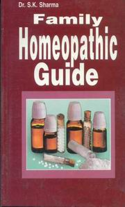 Family Homeopathic Guide, Dr. S.K. Sharma, HEALING Books, Vedic Books