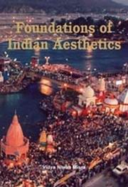 Foundations of Indian Aesthetics by Vidya Niwas Misra at