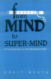 From Mind to Super Mind, Rohit Mehta, PHILOSOPHY Books, Vedic Books